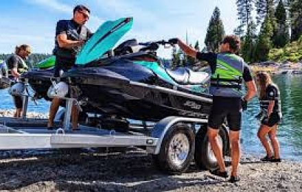 Kawasaki Jet Ski  2 Passenger per unit Bundle (Two Jet Ski's with trailer)